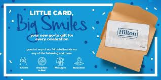 hilton hotel gift 2018 world s