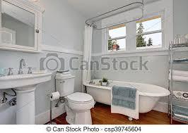 interior design of craftsman bathroom