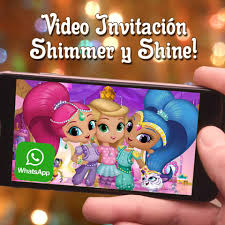 Videozas Video Invitacion Shimmer Y Shine Crea La Tuya Facebook