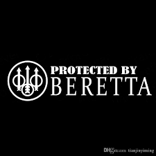 2020 15x4 3cm Protected By Beretta Originality Vinyl Decals Motorcycle Car Sticker Zt0016 From Tianjinyiming 13 97 Dhgate Com