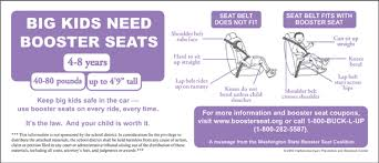 booster seat law takes effect jan