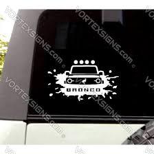 Sale Ford Bronco Window Decals Stickers Online 10 Off