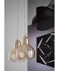 mega bulb sr2 pendant gold with clear