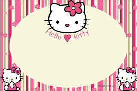 Marcos De Hello Kitty Con Imagenes Hello Kitty Imprimible
