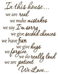 In This House We Do Wall Decals Family Rules Quotes Brown Contemporary Wall Decals By Vwaq Vinyl Wall Art Quotes And Prints