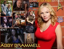 Happy birthday Abby Brammell, born March 19, 1979. | Nerd News Now