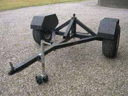 building a towable trailer dolly