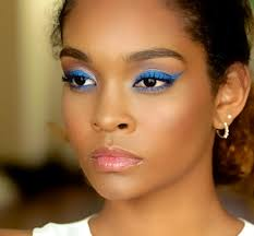 flawless makeup for dark skin featuring
