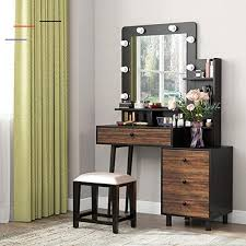 tribesigns makeup vanity table with