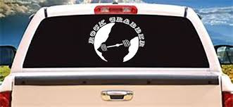 10 Inch Rock Grabber Outdoor Vinyl Decal Sticker Your Decal Sticker Will Come Ready To Apply And With Detailed Instru Vinyl Decal Stickers Vinyl Decals Vinyl