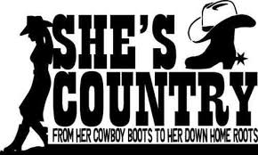 Jason Aldean She S Country Cowgirl Cowboy Boots Decal Window Bumper Sticker Car Stickers Length 14 5cm Car Stickers Aliexpress