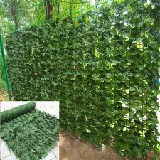Artificial Privacy Screening Roll Garden Artificial Ivy Leaf Hedge Fence Wall Balcony Privacy Screening Roll Artificial Plant Fencing Trellis Gates Aliexpress