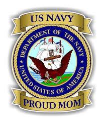 Us Navy Mom Vinyl Decal Sticker Motherproud