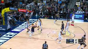 Dunk by Nikola Jokic in the second ...