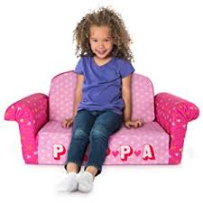 kids marshmallow flip open sofa review