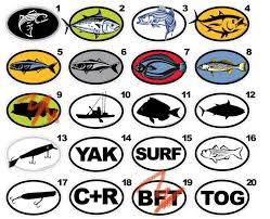 Yak Decals Kayak Art Kayak Decals Kayak Fishing