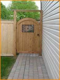 Gorgeous Wooden Fence Door Ideas Design With Images Backyard Gates Garden Gates Garden Gates And Fencing