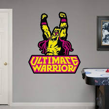 Wwe Ultimate Warrior Logo Real Big Fathead