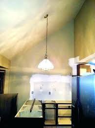 sloped ceiling light lights vaulted