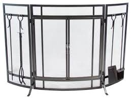 curved screen with tools contemporary