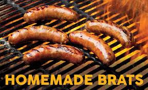 homemade brats hot dogs mac s
