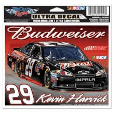 Kevin Harvick 29 Budweiser Bud 5 X 6 Ultra Decal Usa