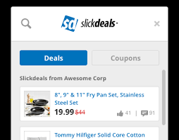 browser extension for and deals