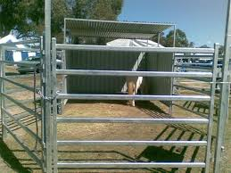 Galvanized Livestock Fence Panels Qingdao Highlight Machinery Co Ltd