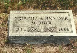 Priscilla Avira Belding Snyder (1834-1886) - Find A Grave Memorial