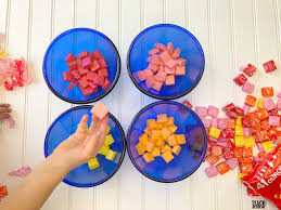 edible slime from starburst candy