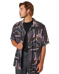 stussy zebra mens ss shirt pastel