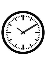 Disegno da colorare orologio - Disegni Da Colorare E Stampare Gratis