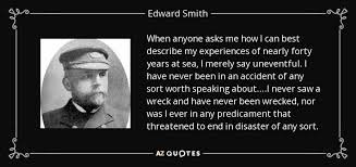 TOP 5 QUOTES BY EDWARD SMITH | A-Z Quotes