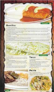 el vaquero west menu