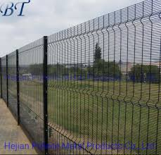 China High Security Clear Vu View Mesh Fence Panels 358 Anti Climb Fence Prison Fencing China Bridge Fence Railway Fence