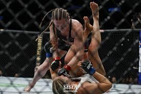 UFC on ESPN 7 results: Aspen Ladd demolishes Yana Kunitskaya with punishing  third-round TKO - MMA Fighting