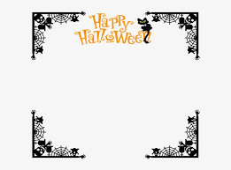 Halloween Frame Png Clipart Freeuse Halloween Border Png Transparent Png 599x529 Free Download On Nicepng