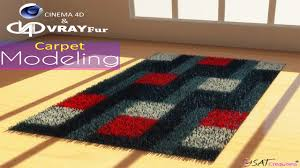 carpet modeling in cinema 4d r16 with