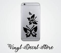 Iphone 4 5 6 7 Decal Sticker Butterflies Vinyl Decal Iphone Decal Vinyl Decals Iphone