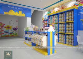 Thiết kế nội thất shop mẹ và bé tại Bỉm Sơn Thanh Hóa cho Chị Hạnh