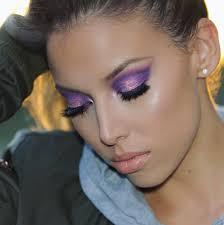bold purple eye shadow looks you need