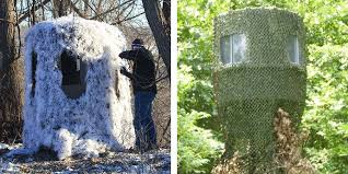Hiding Your Hunting Blind Banks Outdoors