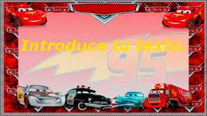 Invitaciones Cumpleanos Cars En Hd Gratis Para Descargar 4