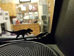 T Rex Dinosaur Decal For Jk Jku Jeep Windshield