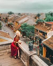 """""""Hot girl tóc mây"""" gốc Việt khoe ảnh check-in đẹp mê hồn tại Hội An"""