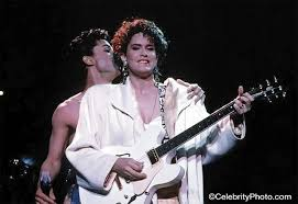 Prince and Wendy Melvoin   The artist prince, Prince and the revolution,  Prince purple rain