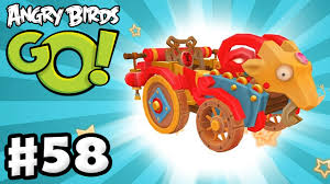 Angry Birds Go! Gameplay Walkthrough Part 58 - Goat Kart! Chinese ...