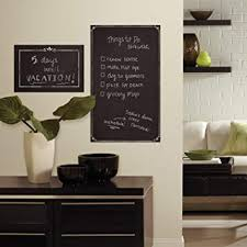 Roommates Rmk3317gm Decorative Chalkboard Peel And Stick Giant Wall Decals Multicolor Amazon Com