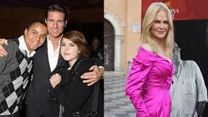 Tom Cruise i suoi figli odiano Nicole Kidman ecco perchè ...