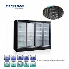 china glass door four door commercial